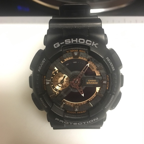 info for d9f0f 035a1 Casio G-Shock 5146 GA-110RG -Water Resistant Watch